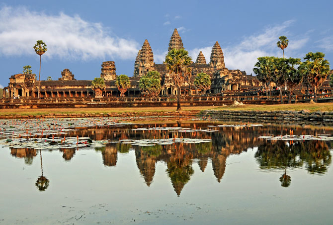 Top 10 Magnificent Temples in Asia Angkor Wat Angkor Cambodia