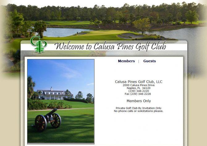 Top 6 Golf Courses in Florida Calusa Pines Golf Club