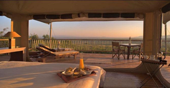 Top Luxury Lodges in Kenya The Mara Bushtops