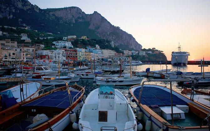 Top Ten Superyacht Marinas in the Med Marina Grande Capri