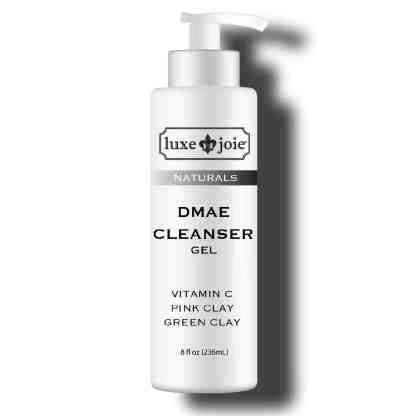 dmae cleanser on white background