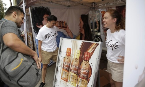 McCafe Celebrates Feel Good Day In Union Square All Day Today! Head On Down For The Ultimate NYC Summer Event!