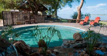 Chiawa Camp Pool - Courtesy of chiawa.com