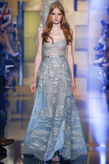 Elie Saab Fall15 Couture - Photo by Gianni Pucci of Indigital Images