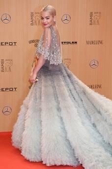 Rita Ora in Marchesa - Clemens Bilan - Getty Images