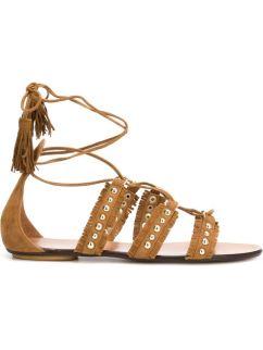 Kendall Jenner Coachella Sandals - The Luxe Lookbook