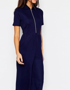 Luxe in blue cropped wide leg jumpsuit - The Luxe Lookbook