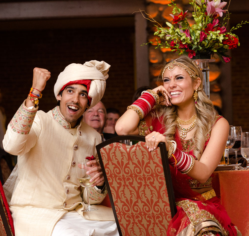 An Indian And American Wedding Celebration Luxe Mountain