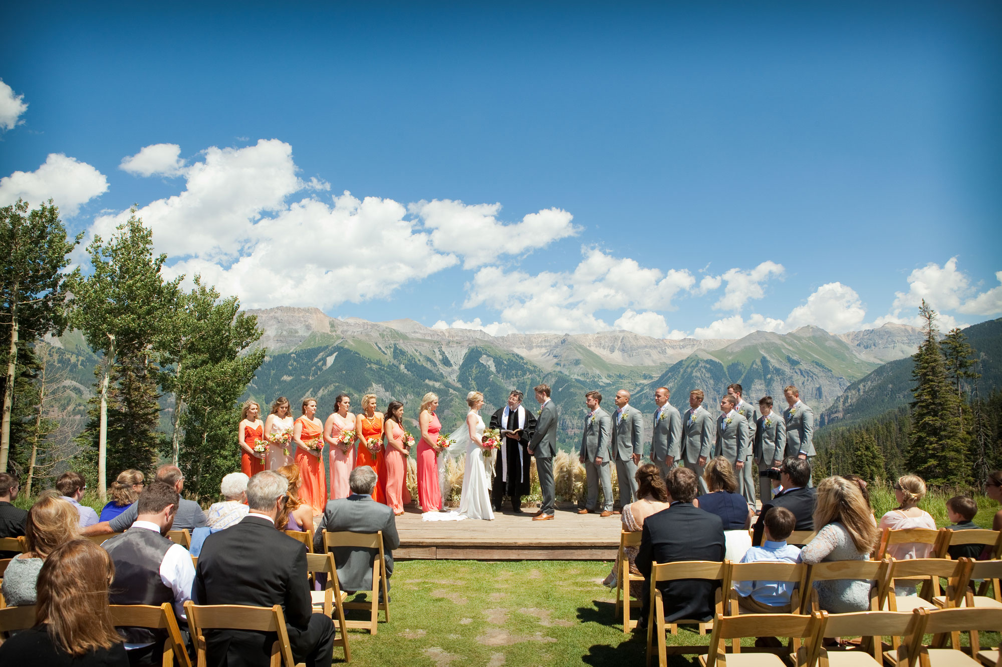 A Mountain Destination Wedding In Telluride Luxe