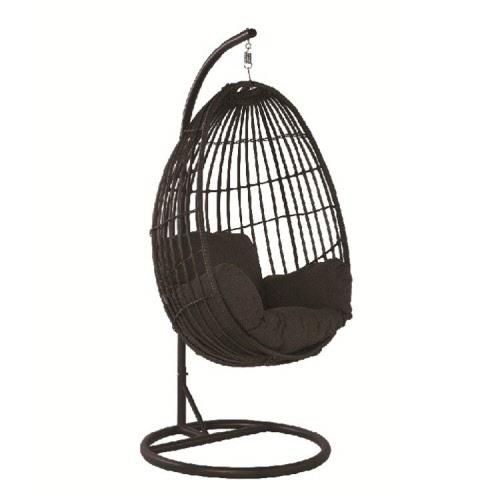 Hangstoel Swing Egg.Chair Grey Hangstoel Panama Swing Chair Egg Royal Grey Earl Grey