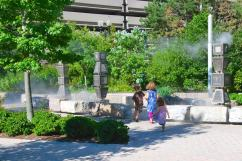 Mist gardens for the gentle experience