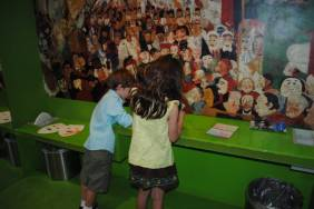 The Getty Museum Interactive Exhibit