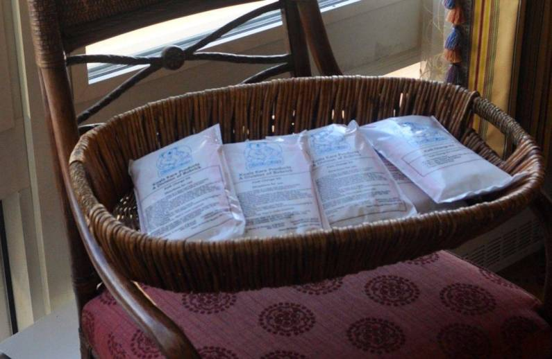 My own basket of diapers