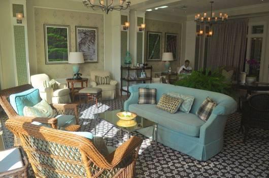 The coed spa lounge