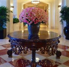 The classic Ritz Carlton look
