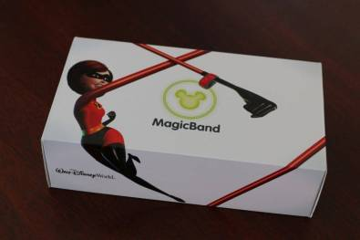 The Magic Bands arrive by mail.