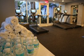 The gym at the B Resort.
