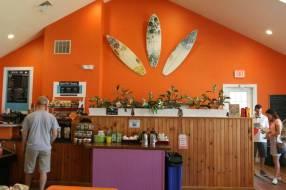 The Ocean Edge coffee shop.