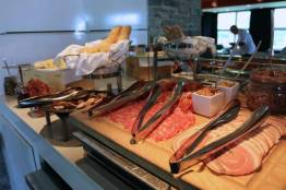 Charcuterie and appetizers from 5pm to 7pm at the Club Lounge