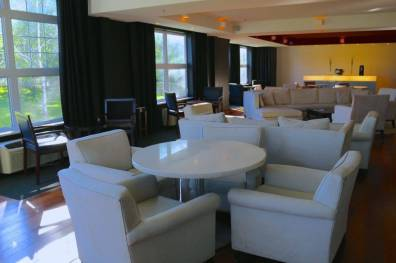 Club lounge at Le Bonne Entente