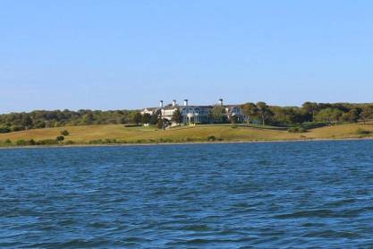 Estates of Chappaquiddick from the water taxi