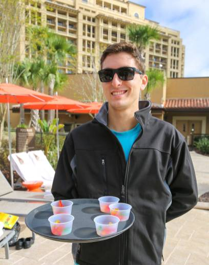 Four Seasons Orlando pool service