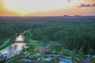 Four Seasons Orlando views of Magic Kingdom