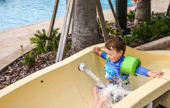 Four Seasons Orlando Water Slide