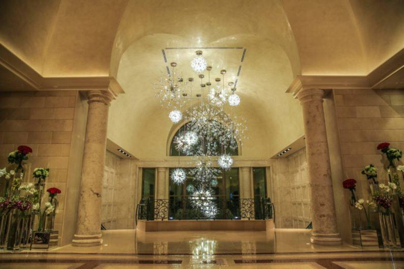 The lobby of the Four Seasons Orlando