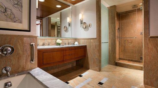 Ritz Carlton Westchester Bathroom