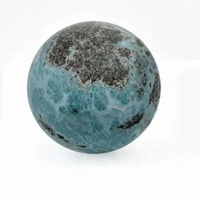Caribbean Blue Larimar Sphere