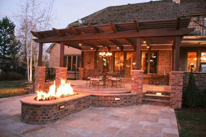 Lucapes Landscape Design And Installation Contractor Greater Denver Area Lighting