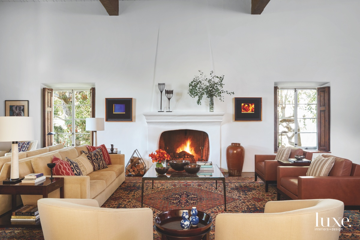 Moroccan Accents Add Flair To A Spanish Colonial Revival