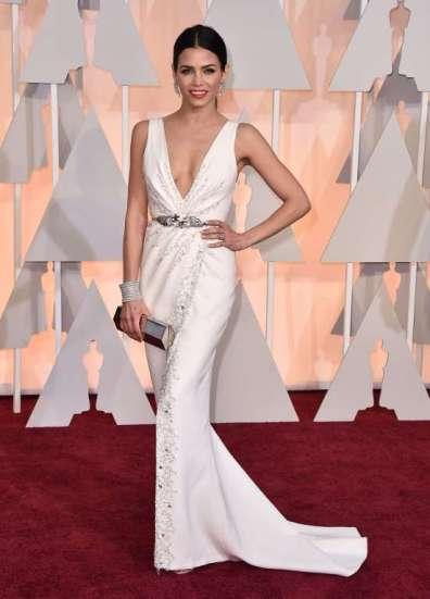 Jenna Dewan-Tatum, vợ của Channing Tatum, chọn đầm trắng của Zuhair Murad Couture