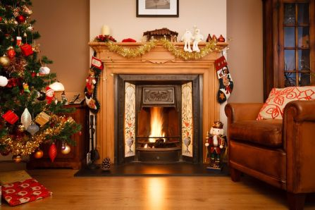 Bigstock-Christmas-Living-Room-Decoration-Using-Luxury-Christmas-Decor-Combined-with-Enchanting-Fireplaces-Design-Such-A-Wonderful-Home-Decoration