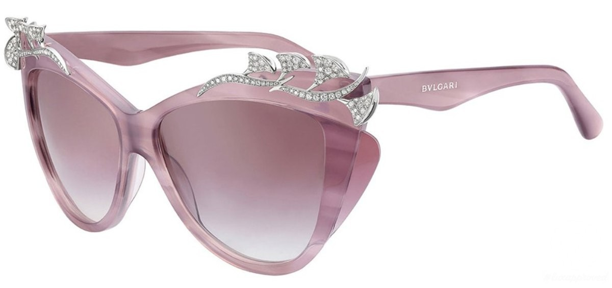 c64af2351e Behold the World Through Rose-Coloured Bvlgari Glasses