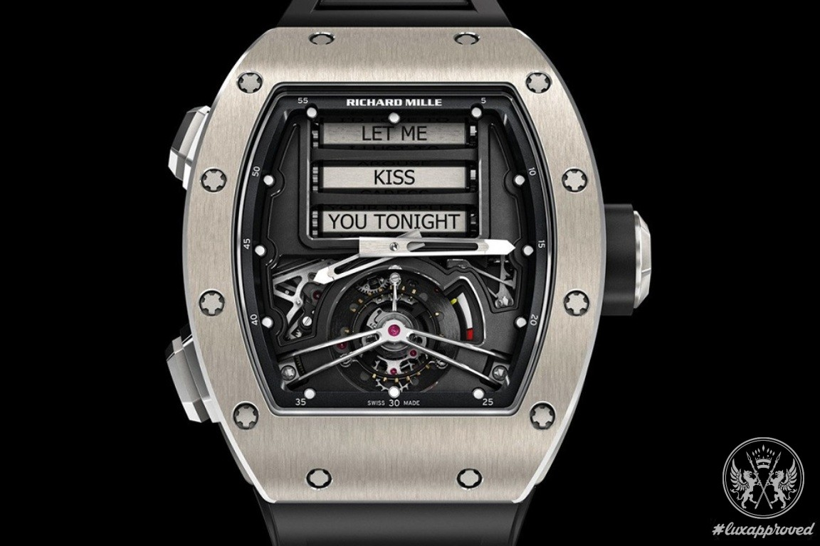 Richard Mille RM 69 Erotic Tourbillon replica watch