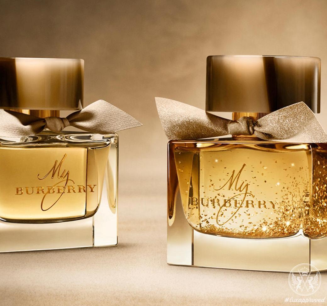 Monogram Your My Burberry Eau De Parfum Festive Edition Lux Exposé