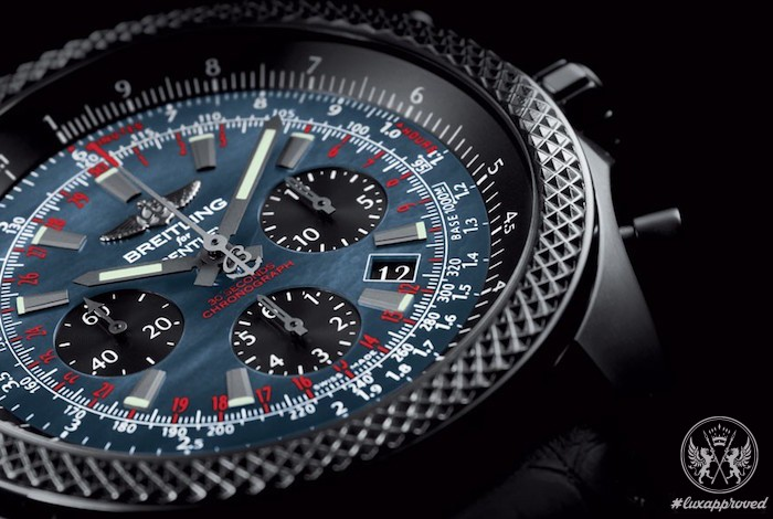 Breitling For Bentley B06 Midnight Carbon replica