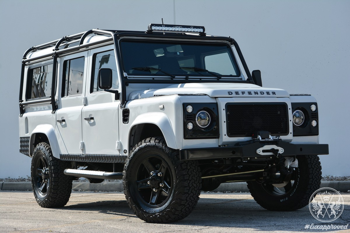 and dash new dashboard standard the nappa takes custom white with pin on whole look take trim landrover a stitch rover in it land black plastic defender finest