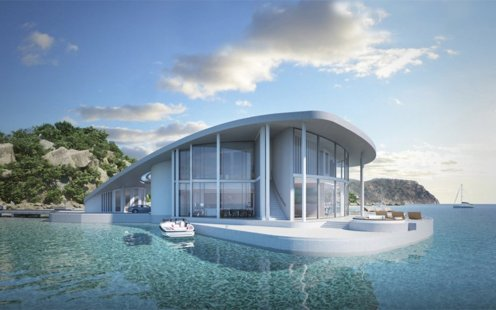This Luxury Floating Residence By Schopfer Associates Is Tremendous