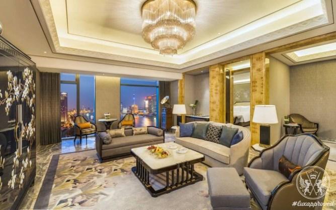 Wanda Reign on the Bund is Shanghai's First 7-Star Hotel