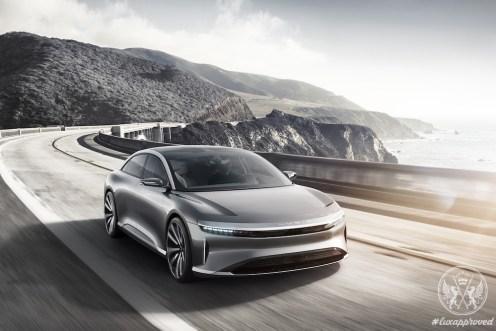 Lucid Motors Reveals Electric Vehicle Lucid Air