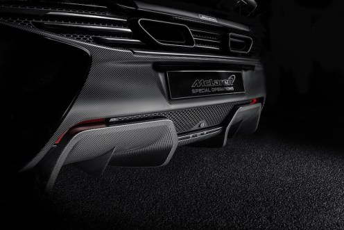 McLaren Special Operations Defined Accessories Line for 12C and 650S