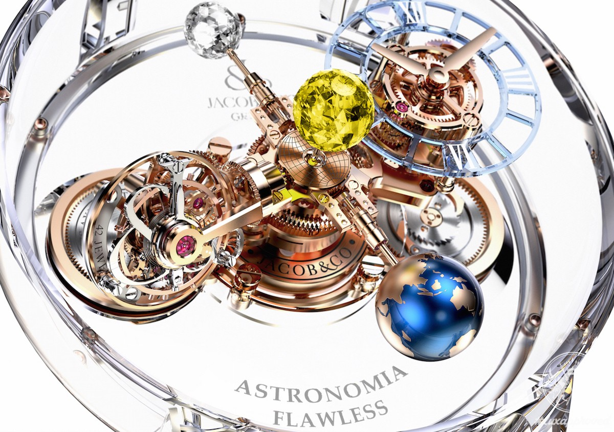 25d73bc822a54 Jacob & Co Astronomia Flawless Watch Is Worth $1 Million