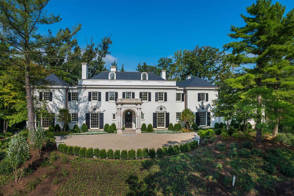 This $22 Million Maison Is Washington, D.C.'s Most Expensive Home