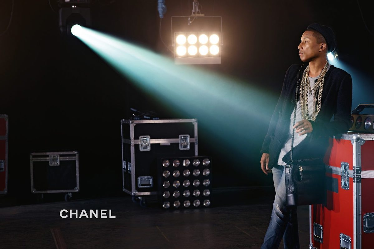 Chanel's Gabrielle Bag Campaign Starring Pharrell Williams