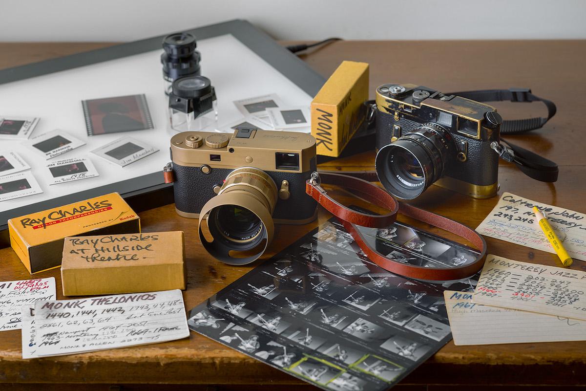 The $12,950 Leica M Monochrom Limited Edition Jim Marshall Set