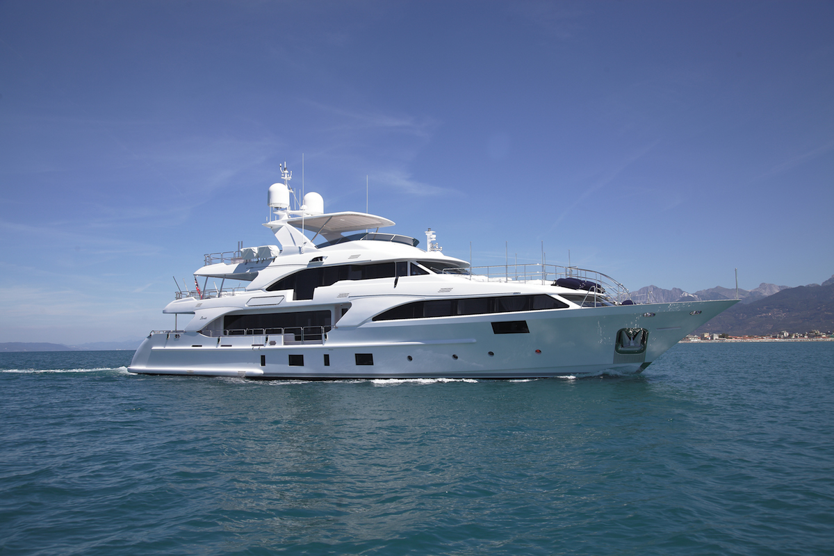 Benetti Has Announced the Delivery of M/Y Lady Lilian