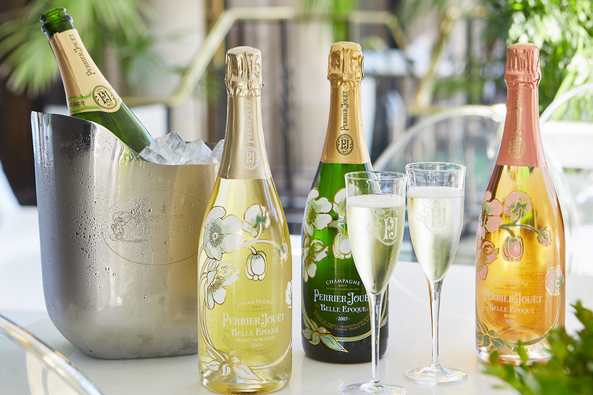 THE Blvd Restaurant & Perrier-Jouët Create The Garden of Wonder